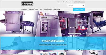 Champion website new